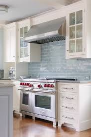 light blue kitchen tiles glazed blue kitchen backsplash tiles