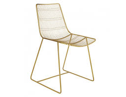 TABITHA Gold-finish Metal Wire Dining Chair   Buy Now At Habitat UK White Wire Diamond Ding Chair Fmi1157white The Home Depot Shop Poly And Bark Padget Eiffel Leg Set Of 2 Bottega Tower Ding Chair By Sohoconcept Luxemoderndesigncom Commercial Gold Leaf Shape Metal Chairgold Color Bellmont Bertoia Of Rose Harry Oster Black Project 62 In 2019 4 Wire Ding Chairs Black With Cushion 831 W Green Cushion Zuo Eurway Holly Reviews Joss Main Hashtag Bourquin Wayfair Simple Hollow For Living Room