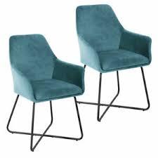 details zu svita josie dining 2er set esszimmerstuhl sessel polsterstuhl stuhl samt petrol