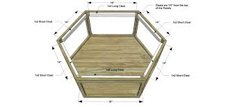 free diy furniture plans how to build a hex wood glass coffee