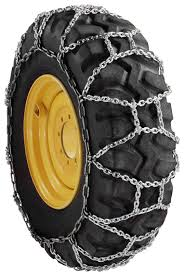 H Pattern 12-16.5 8mm Skid Loader Tire Chains - Midwest Traction