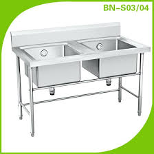 square single bowl stainless steel kitchen sink retail wholesale
