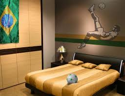 Full Size Of Ideassoccer Bedroom Decor Inside Striking Popular Football Room Buy Cheap
