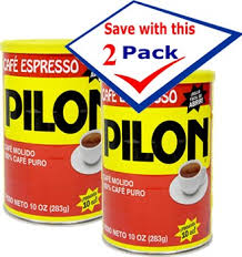 Pilon Coffee In Can Vacuum Packed 10 Oz Pack Of 2