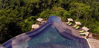 104 Hanging Gardens Bali Ubud Split Level Infinity Pool With View Of The Veiled Jungle