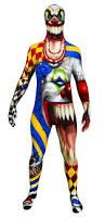 Creepy Clown Pumpkin Stencils by Scary Clown Halloween Morphsuit The Costume Shoppe