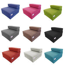 foam chair bed ebay
