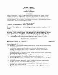 Resume Format For Desktop Support Engineer Unique Itil Practitioner Sample Mitocadorcoreano