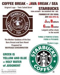 Starbucks Logo Illuminati And On Pinterest