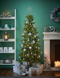 Types Of Christmas Trees With Sparse Branches by 6ft Lit Fraser Fir Slim Christmas Tree M U0026s