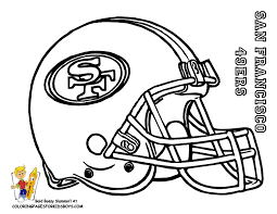Coloring Pages Nfl 19 128 Best Images About NFL On Pinterest