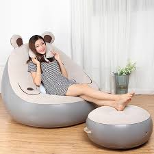 Cute Expression Inflatable Bean Bag Sofa Lounge Chair And Ottoman ... Soft Bean Bag Chairs Couch Sofa Cover Modern Indoor Lazy Lounger For Large Extra Diy Chair Canada Pattern 32sixthavecom Big Joe Pillow Giant Home Improvement Cast Wilson Saxx Microsuede Jaxx Bags Bean Bag Chair Perfect Cabinet And Ktyxgkl Portable Fashion Bber Rug In 2019 Uohome Small Room Milano Multiple Colors 32 X 28 25