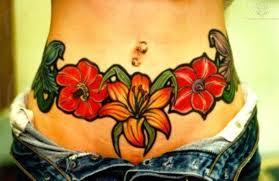 Best 25 Girl Stomach Tattoos Ideas On Pinterest