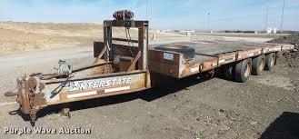 100 Interstate Truck Equipment 1996 Tilt Deck Equipment Trailer Item DC0612