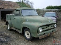100 Service Trucks For Sale On Ebay 1955 FORD F100 STEPSIDE PICKUP SERVICE TRUCK RESTORATION PROJECT