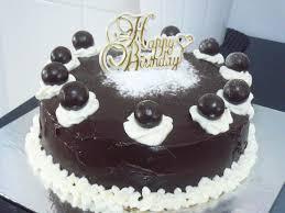 Happy Birthday Vanilla Chocolate Cakes Wallpapers