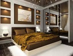 schlafzimmer in braun und beige gestalten erdfarben