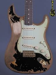 Fender John Mayer Stratocaster Limited Edition Black1 Cruz Masterbuilt