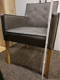2 esszimmerstühle farbe taupe