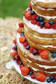 Summer Wedding Cakewith Victoria Sponge