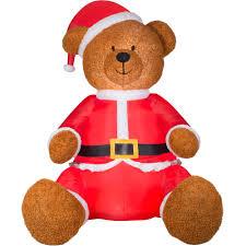 Walmart Halloween Blow Up Decorations by Gemmy Airblown Inflatables Christmas Inflatable Saint Bernard 9 5