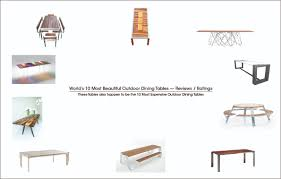 world s most beautiful luxury outdoor dining furniture and bbq table
