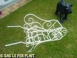 deco fer forge ferronnerie deco fer forge jardin exterieur 7 miroir blanc ste ma inox 5183