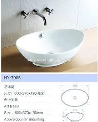 hy 3008 ei stil oval form keramik waschbecken badezimmer waschbecken preise für uk maket buy waschbecken badezimmer waschbecken preise bad