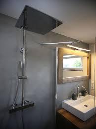 sichtbeton fugenlose badezimmer böden und wände in beton