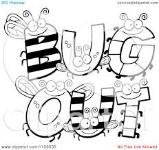 Bug Alphabet Coloring Pages Letter A Color Sheet This B