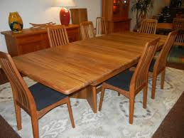 dining tables wso solid teak dining table world source vineyard