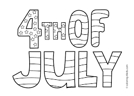 Coloring Pages 4th Of July For Free Printable Kids To Print And Fourth