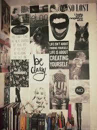 Collage Walls Grunge Bedroom Ideas Tumblr