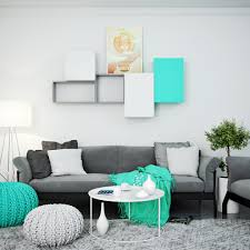 Full Size Of Living Turquoise Room With Modular Wall Shelves And Cabinet Turquise