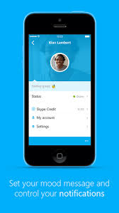 Skype lets you make video calls using the WiFi network or your phone s 3G connection but you can also send messages or share photos or videos with your