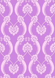 Free Digital Lilac Ornament Scrapbooking Paper Vintage Style Freebie