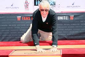 Big Bobs Flooring Of Fox Valley by Stan Lee Honored In Hand And Foot Print Ceremony At Hollywood U0027s