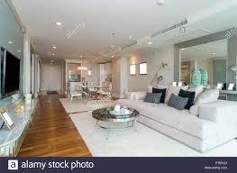 bangkok thailand 25 april luxus ausstattung wohnzimmer