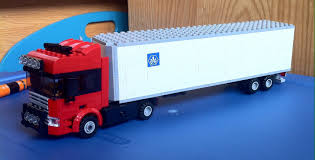 100 Lego Truck Instructions My Custom Tractor Trailer In The Comments Lego