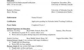 Teacher Resume Examples Nsw Best Of 12 Amazing Education Livecareer How To Write Section