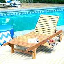 Pool Loungers Swimming Chairs Outdoor Lounge Chair Wooden