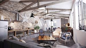 Interesting Ideas Rustic Style Living Room Contemporary Design Classic Interior