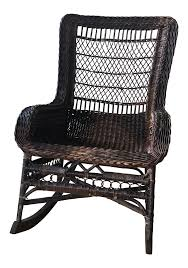 1960s Vintage Brown Wicker Rocking Chair | Chairish 3piece Honey Brown Wicker Outdoor Patio Rocker Chairs End Table Rocking Luxury Home Design And Spring Haven Allweather Chair Shop Abbyson Gabriela Espresso On 3 Piece Set Rattan With Coffee Rockers Legacy White With Cushion Fniture Cheap Dark Find Deals On Hampton Bay Park Meadows Swivel Lounge