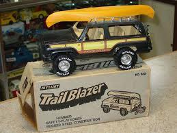 100 Blazer Truck Vintage Nylint No 630 Trail Pressed Steel Toy In Box