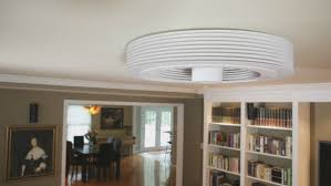 a revolutionary bladeless ceiling fan by exhale fans freshome com