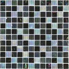 elida ceramica laser sky glass mosaic subway wall tile common 12