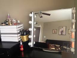Makeup Vanity Table With Lighted Mirror Ikea by Ikea Vanity Mirror See Why Thousands Of Makeup Fans U0026 Pros