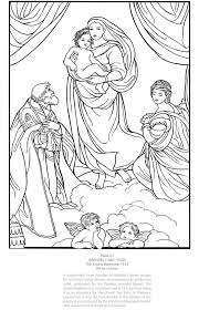 Welcome To Dover Publications Masterworks Color Your Own Italian Renaissance Paintings