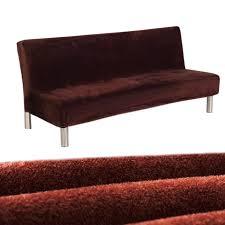 housse canap sans accoudoir nouveau canapé lit en peluche tout compris housse canapé sans