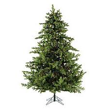 Fraser Hill Farm FFFX090 6GR 9 Ft Foxtail Pine Christmas Tree With Multicolor LED